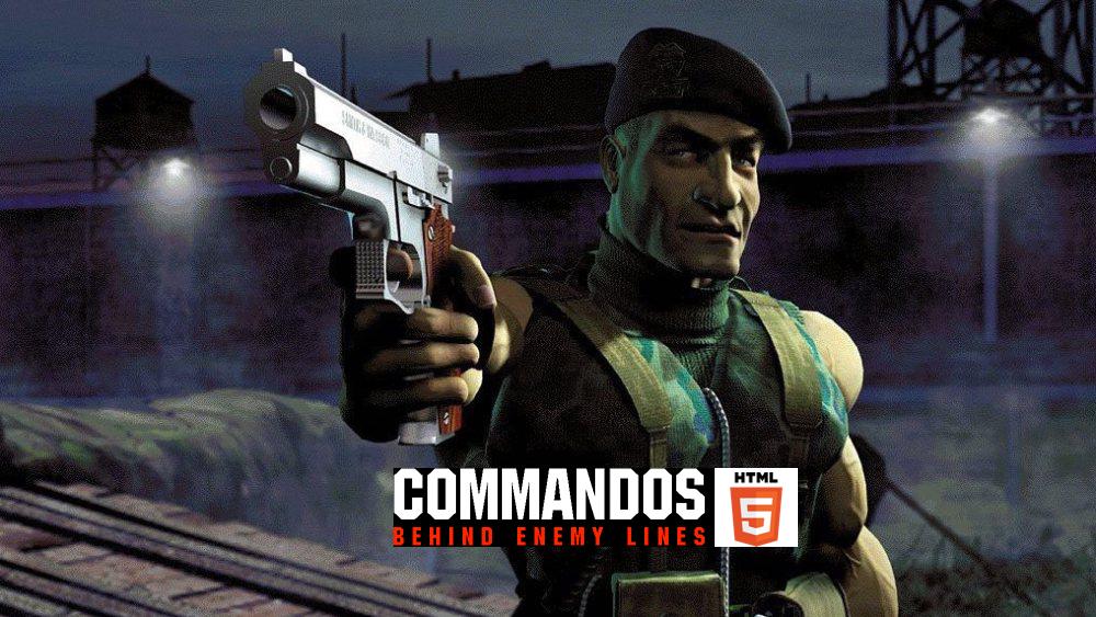 Commandos – Behind Enemy Lines en HTML5